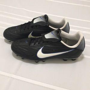 Nike Black Soccer Cleats Size 10